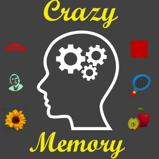 CrazyMemory Logo